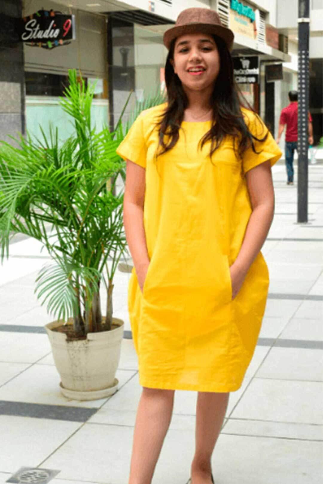 Dress – Cotton Cocoon Dress