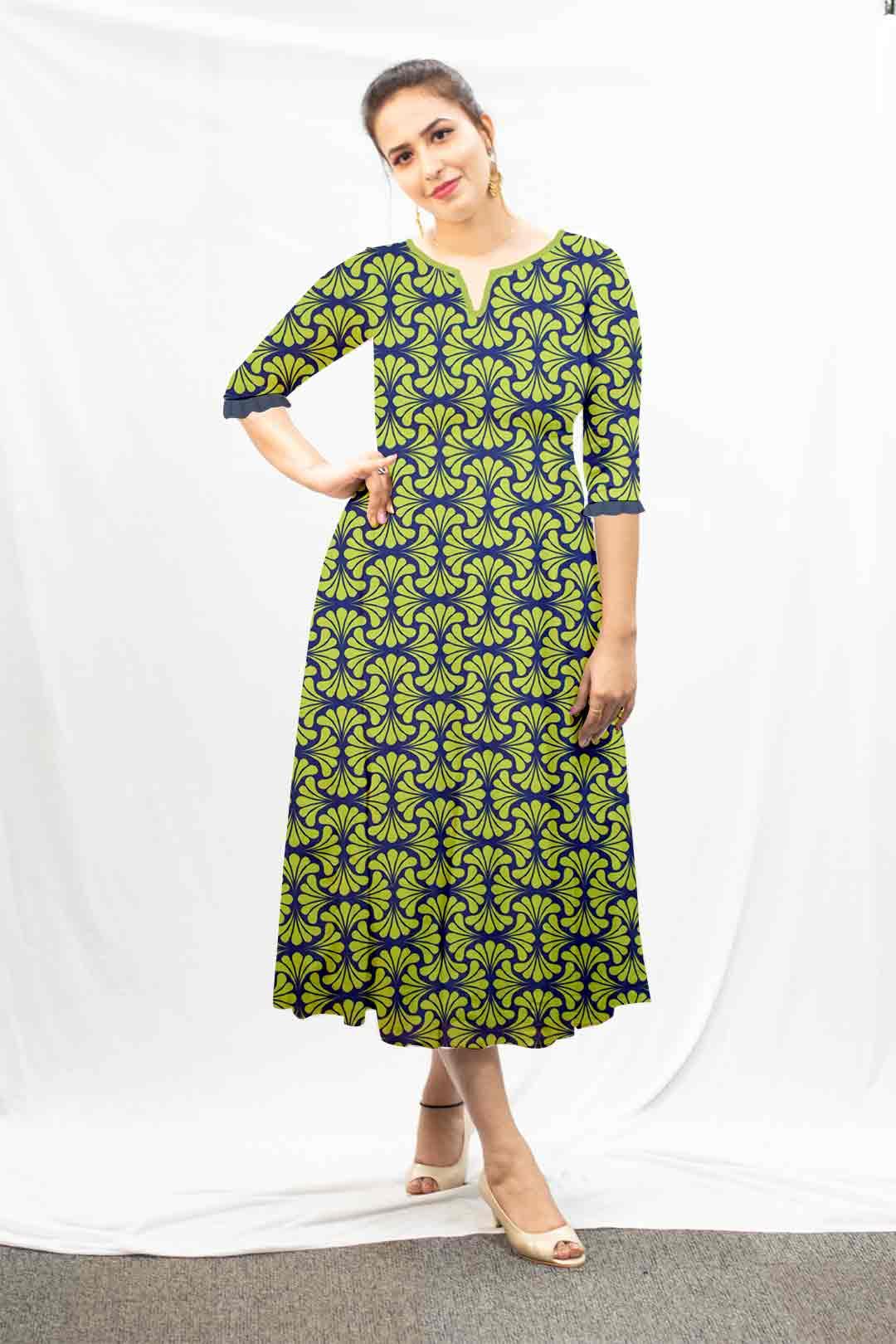 Georgette A line dress – Arrangement