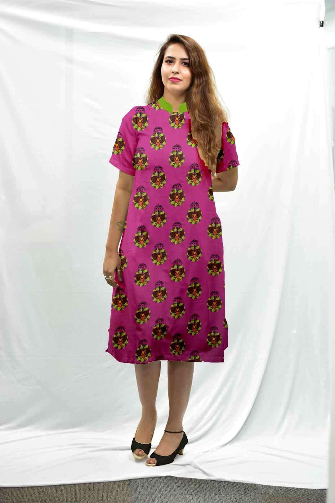 Cotton Shirt Style kurta – Jumbo Rani
