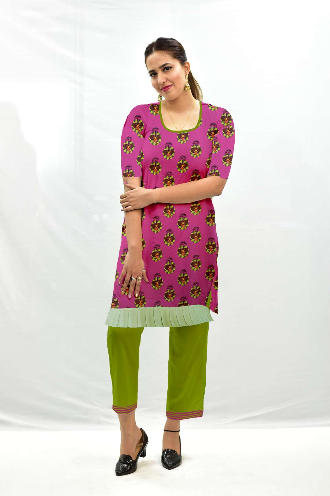 Cotton Pant Suit – Jumbo Rani
