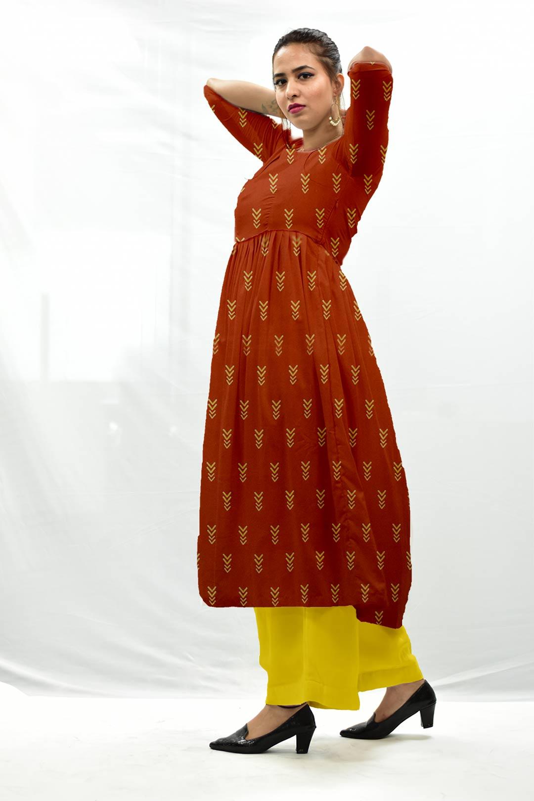 Cotton Frock Style  Suit – Bolt