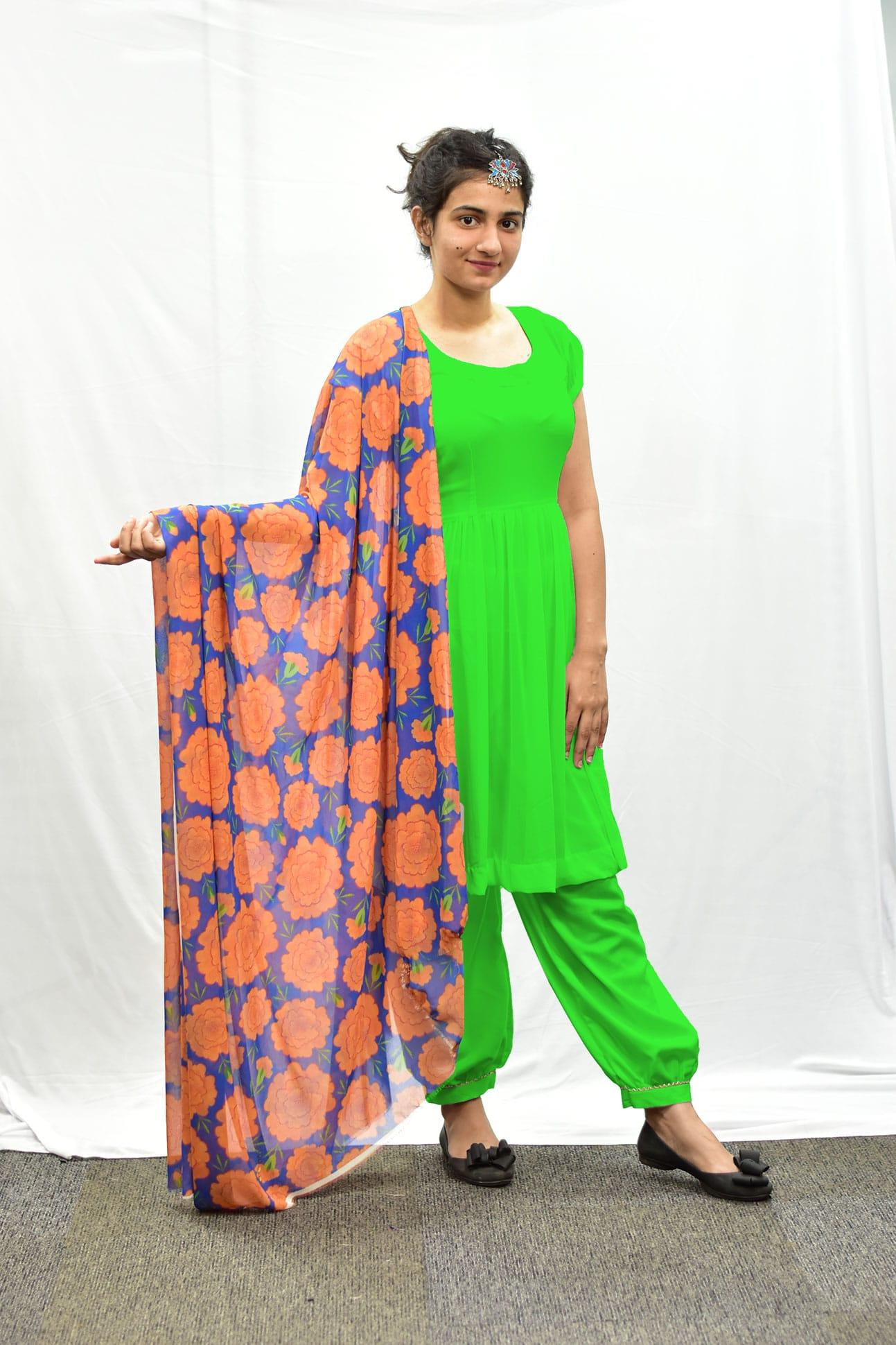 Georgette Salwar Suit – Lea
