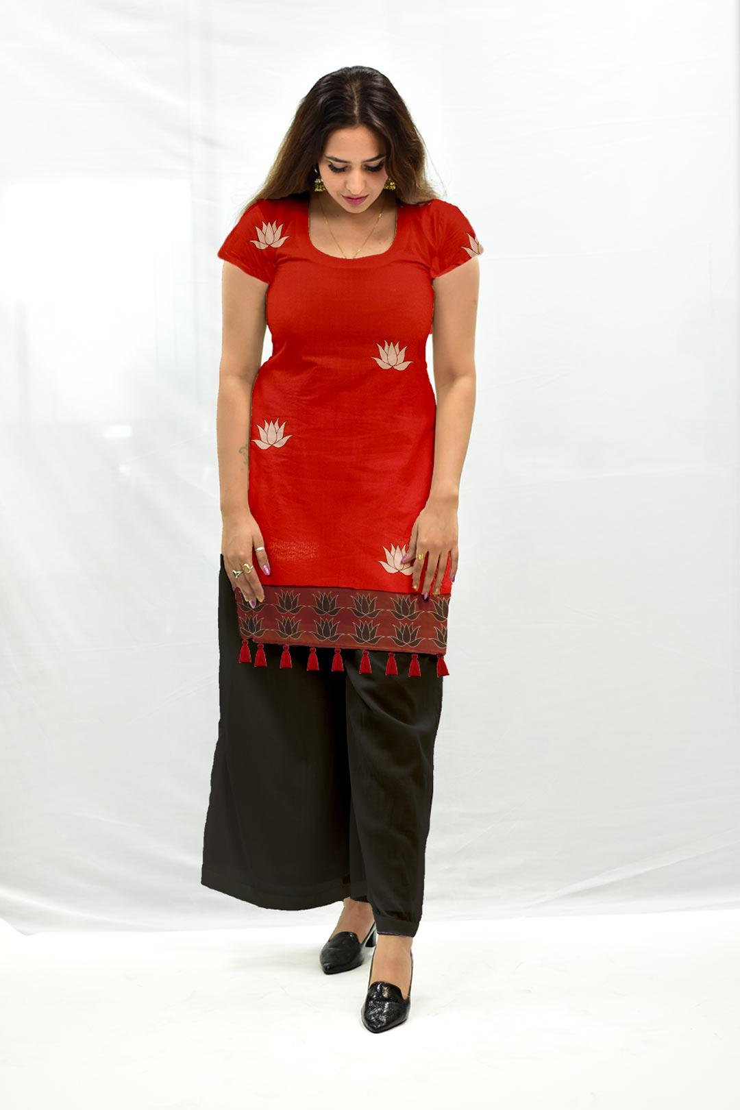 Cotton Palazzo Suit – Kamla