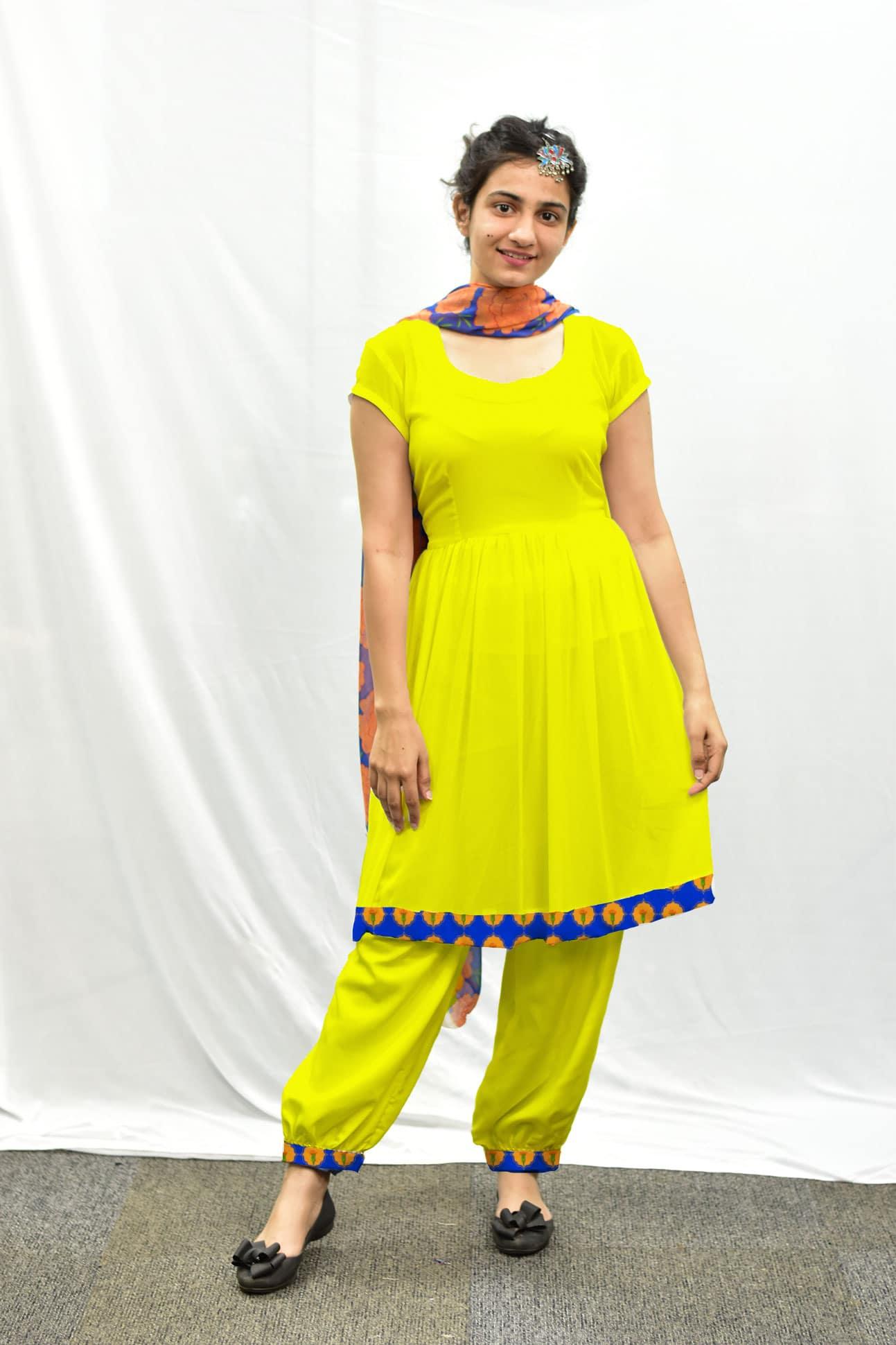 Georgette Salwar Suit – Lemony