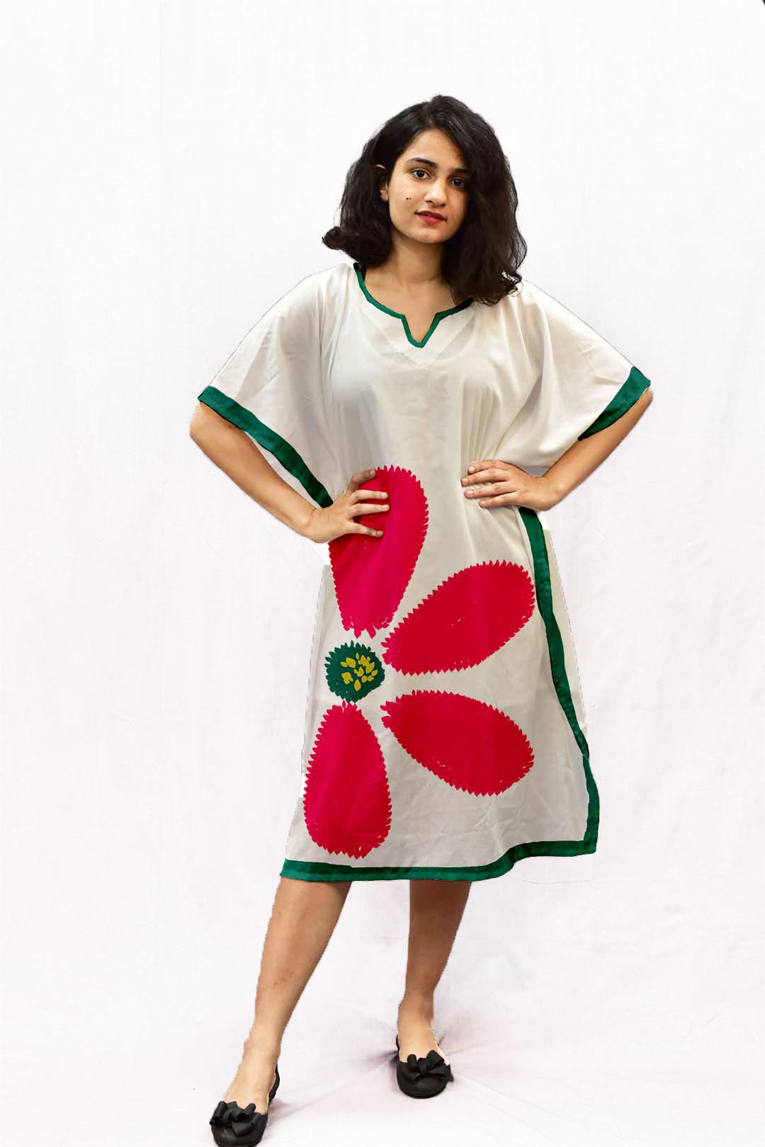 Cotton Kaftan – Flower