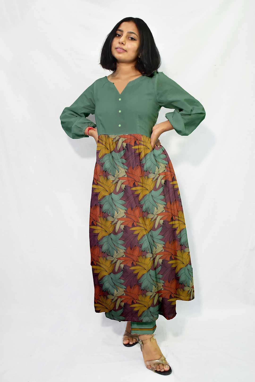 Georgette Pant Suit – Flora