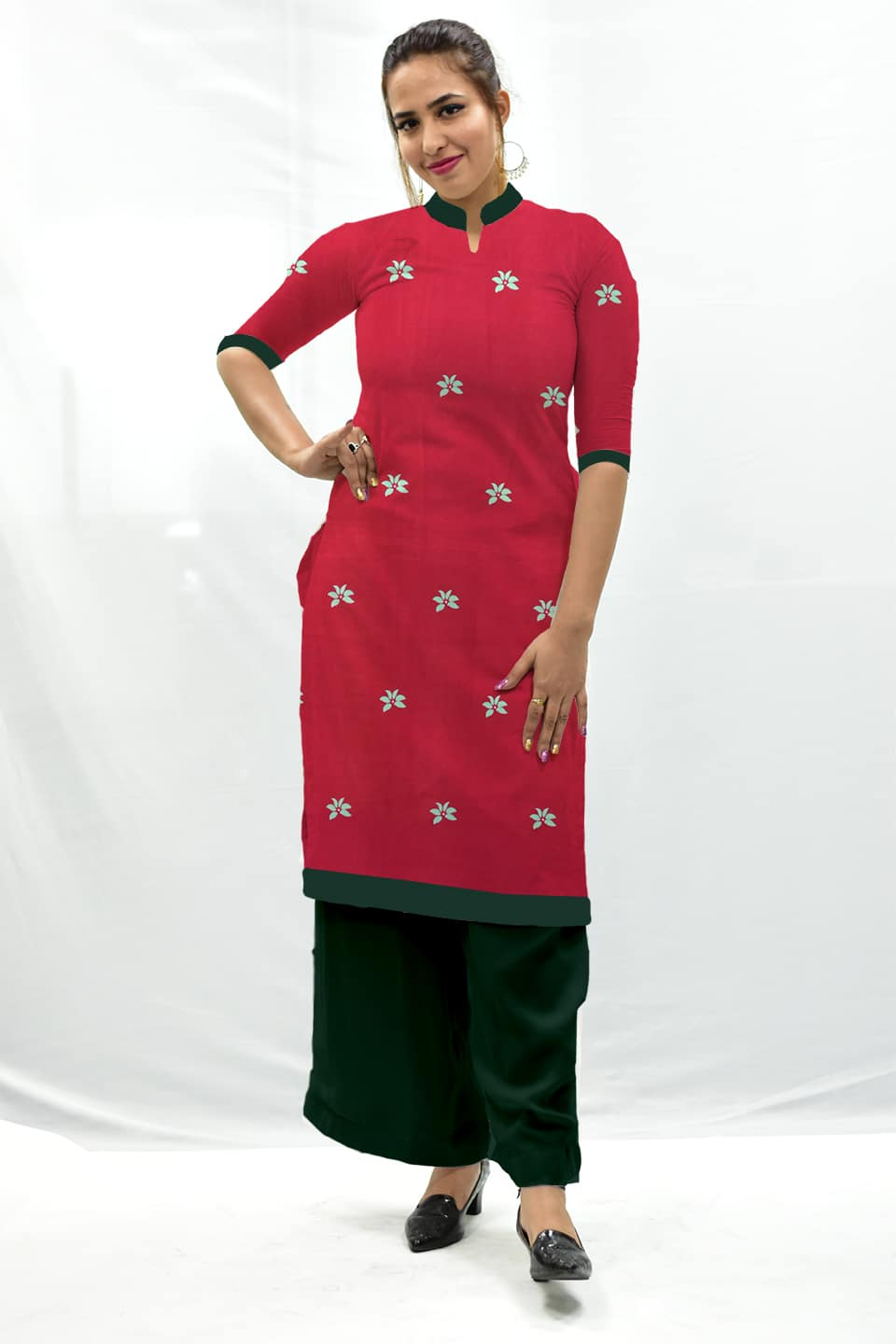 Georgette Palazzo Suit – Lalima
