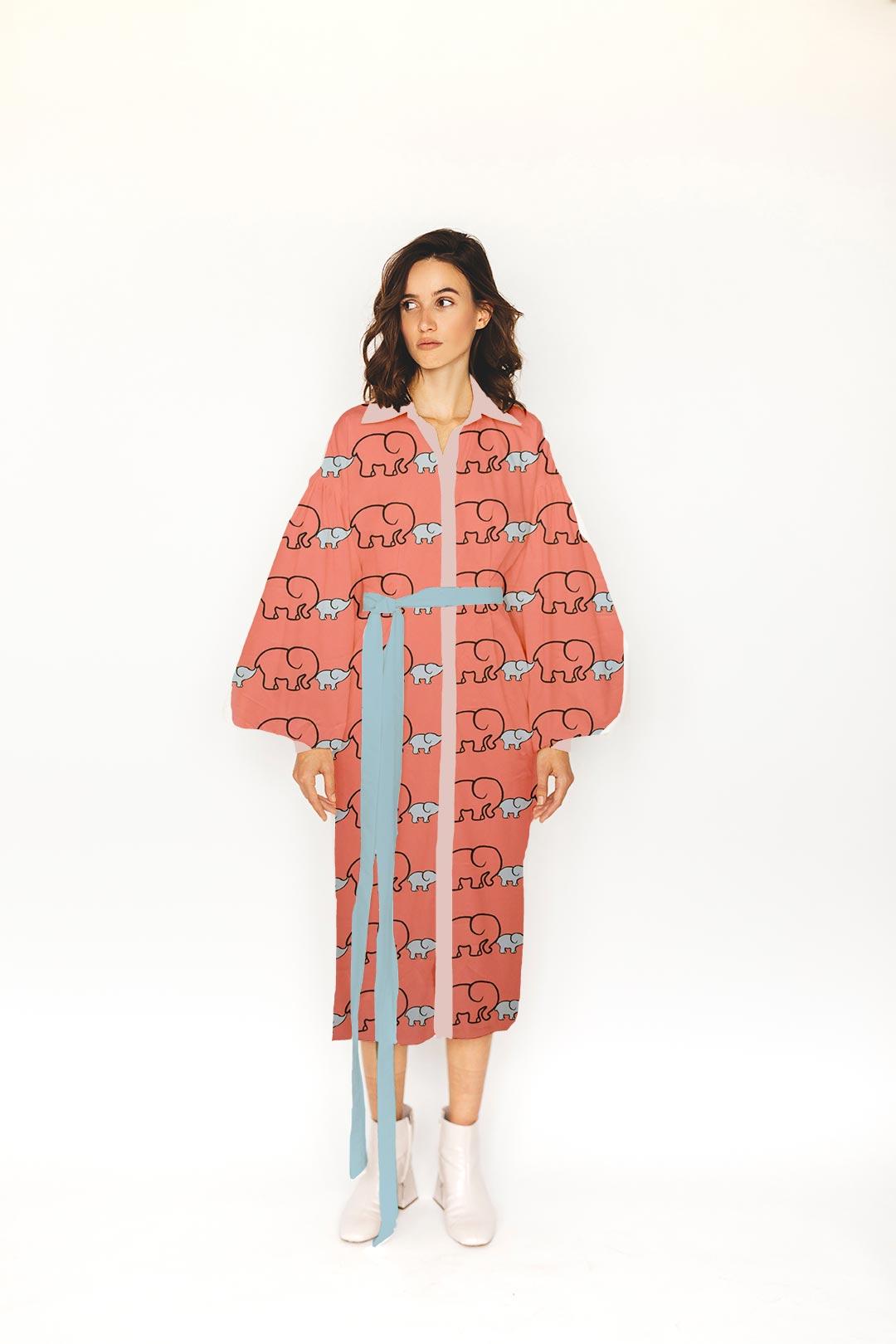 Cotton Shirt Dress – Bade Miya, Chote Miya