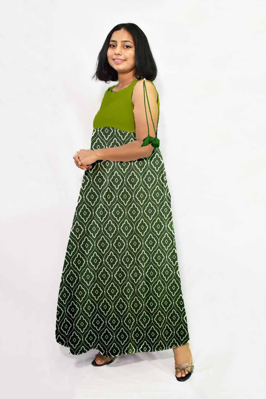 Georgette Maxi Dress – Diamond