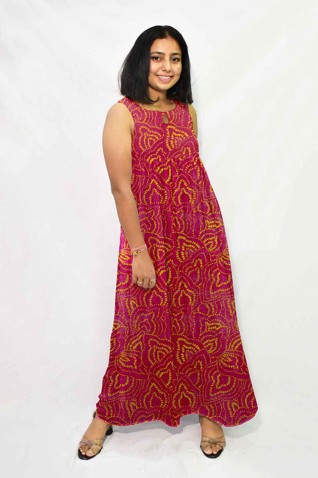 Georgette Maxi Dress – Cherry Bomb
