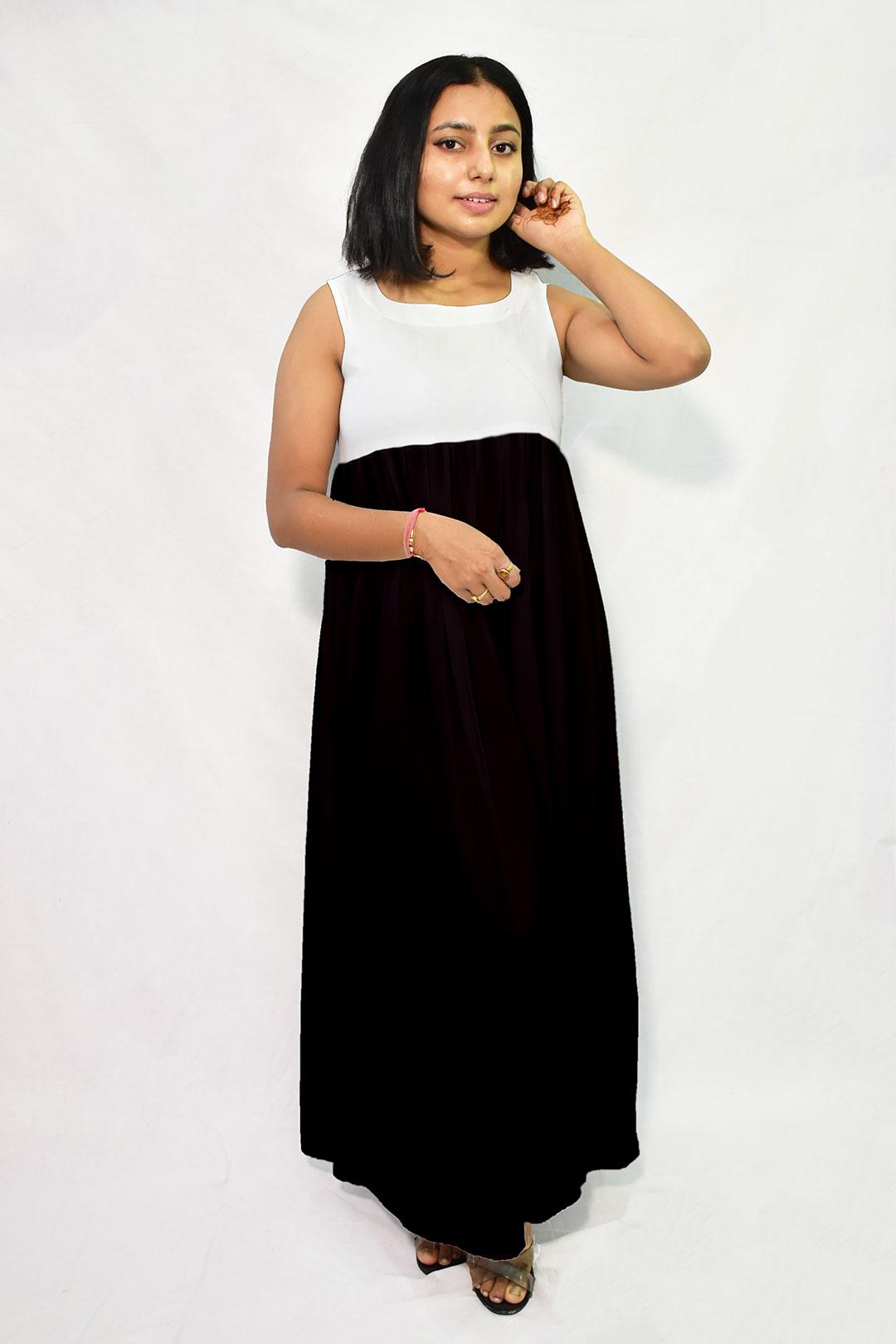 Georgette Maxi Dress – Absolute