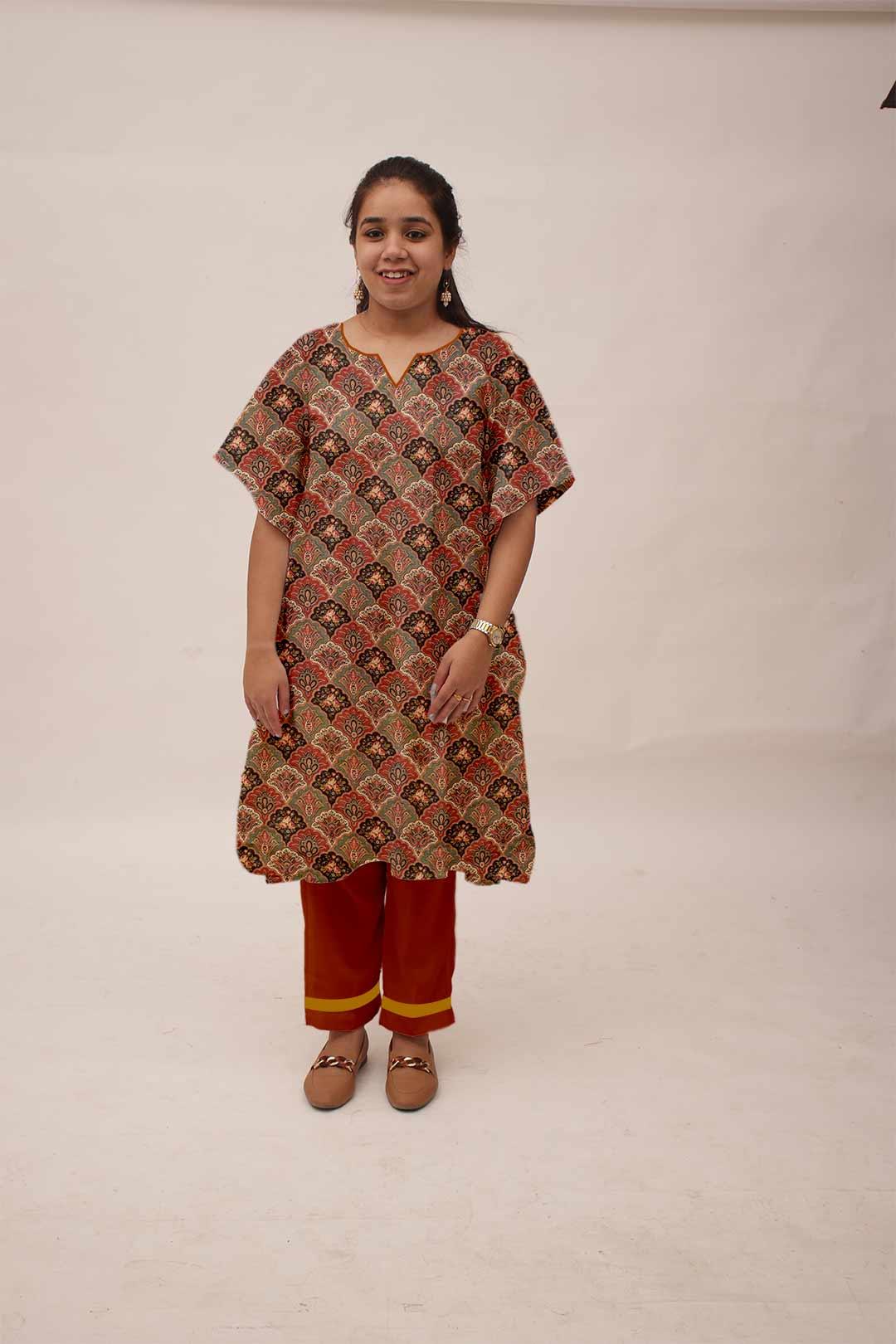Pure Linen Kaftan Suit – Novelty