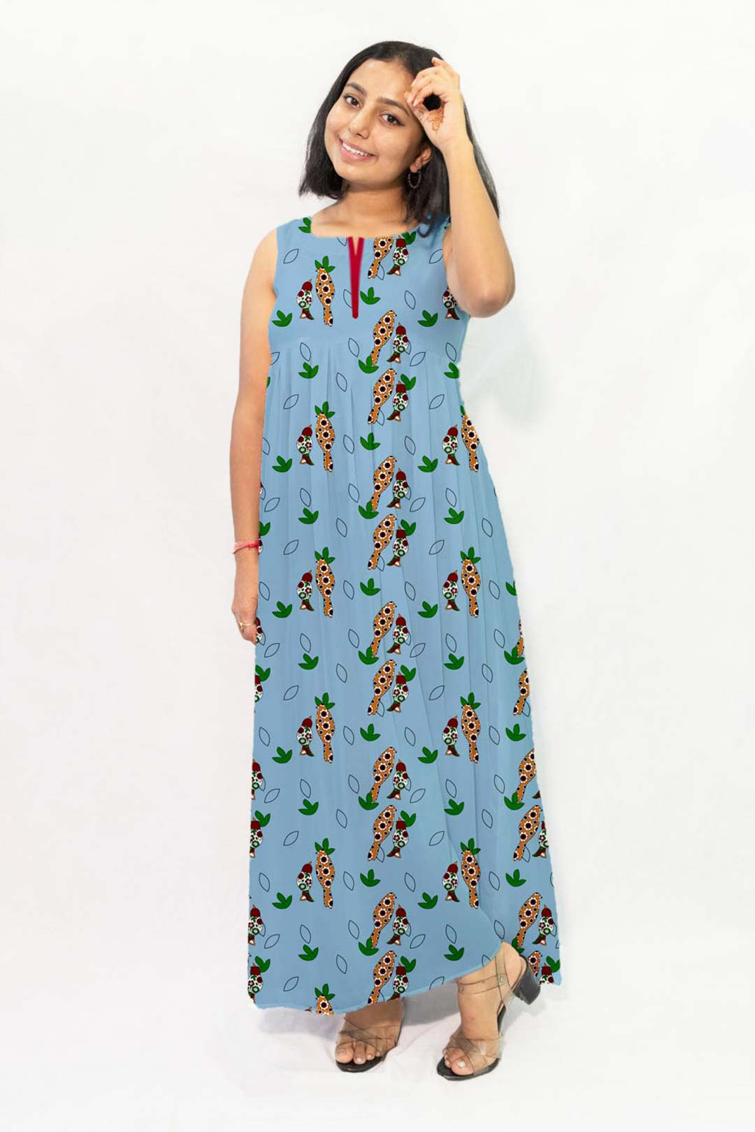 Georgette Maxi Dress – Birdies