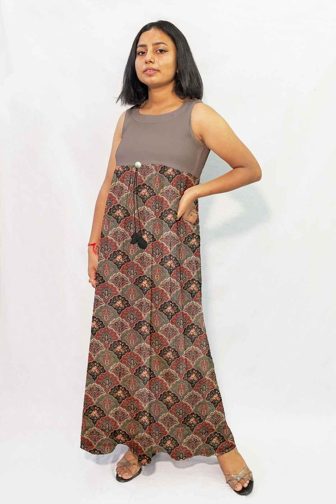Pure Linen Maxi Dress – Novelty