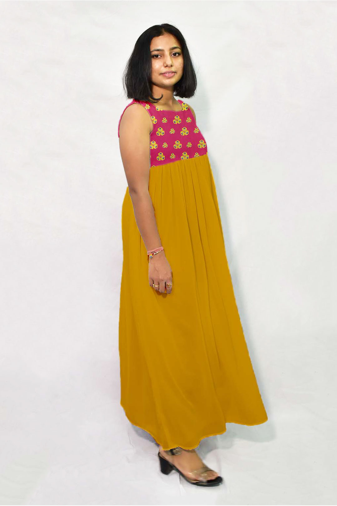 Georgette Maxi Dress – Red Spinach