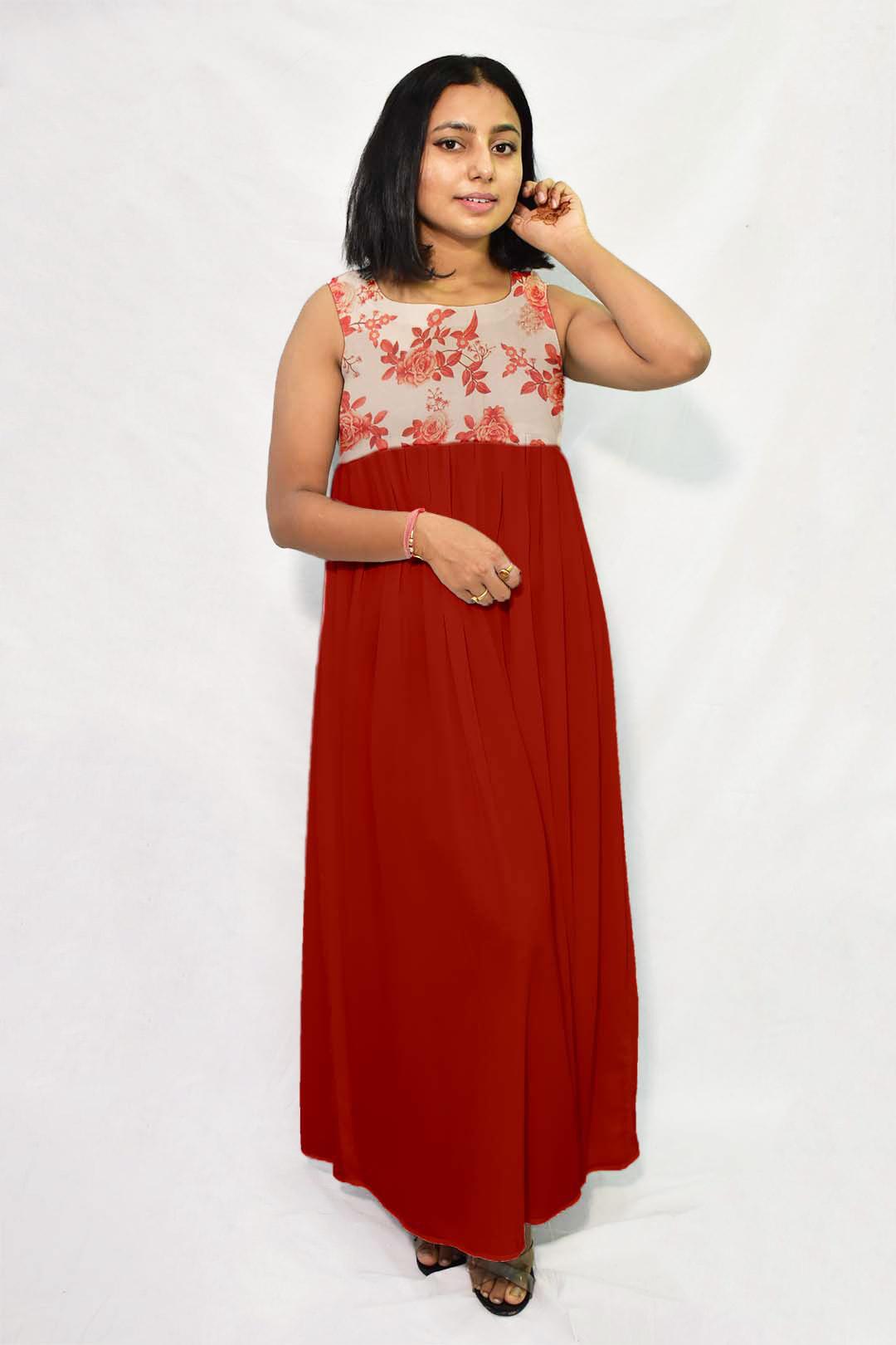 Muslin Maxi Dress – Bella Rosa