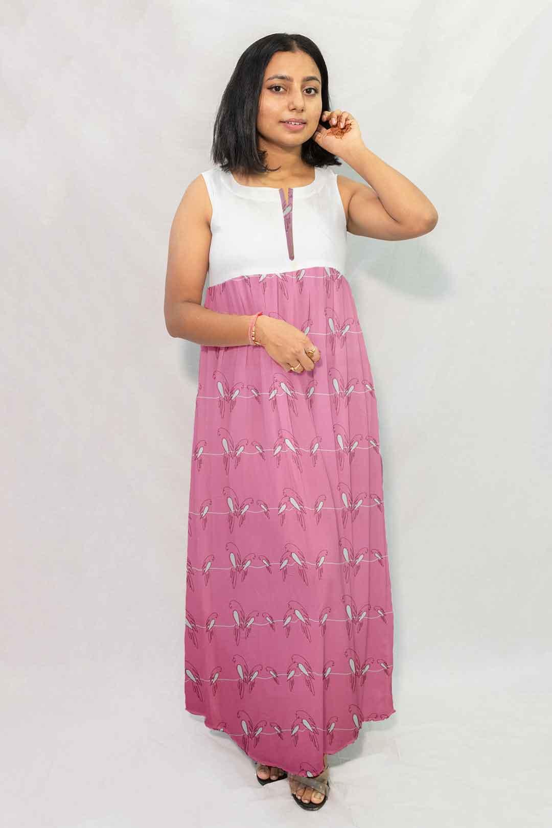 Georgette Maxi Dress – Churpies