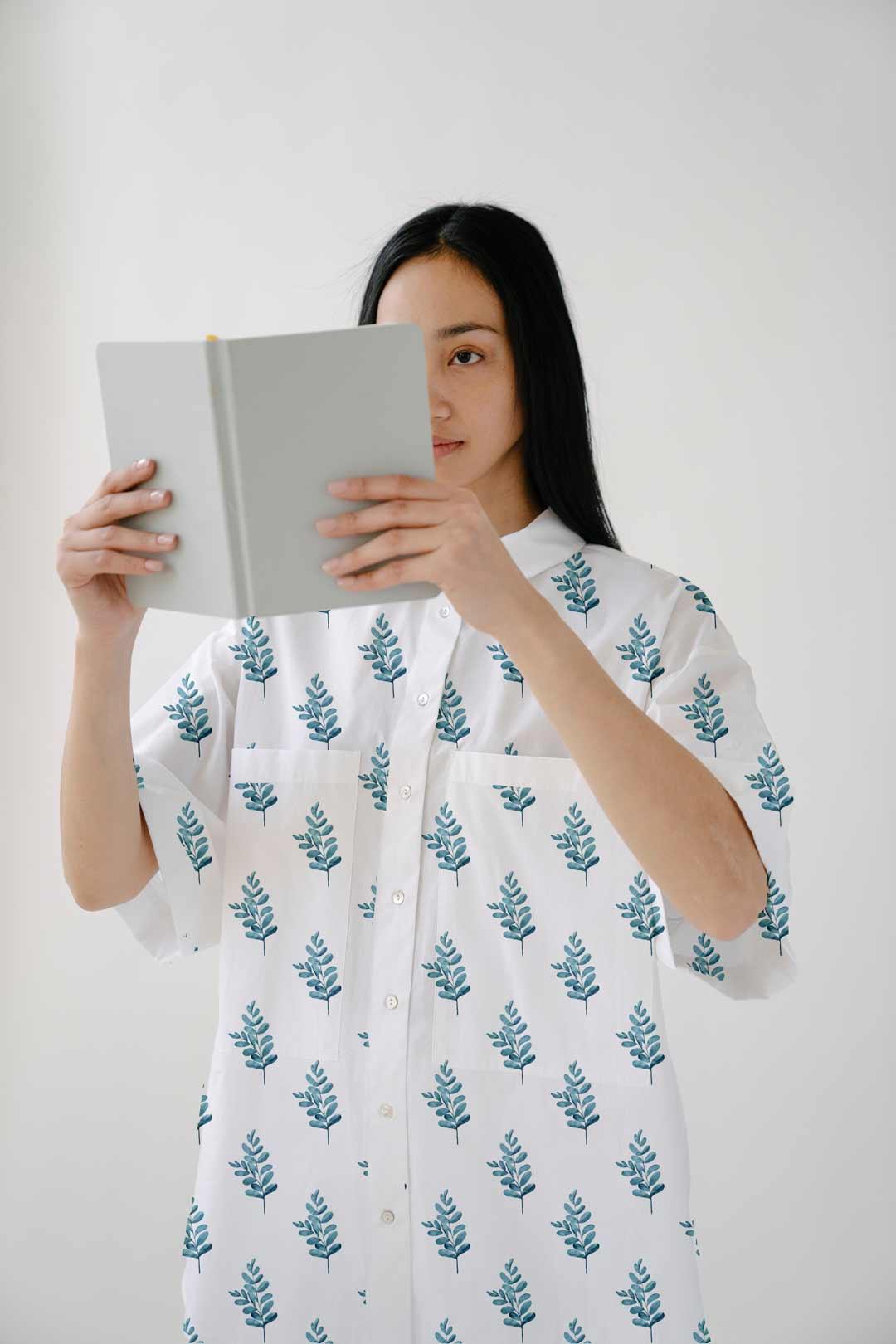Cotton Shirt Top – Frond