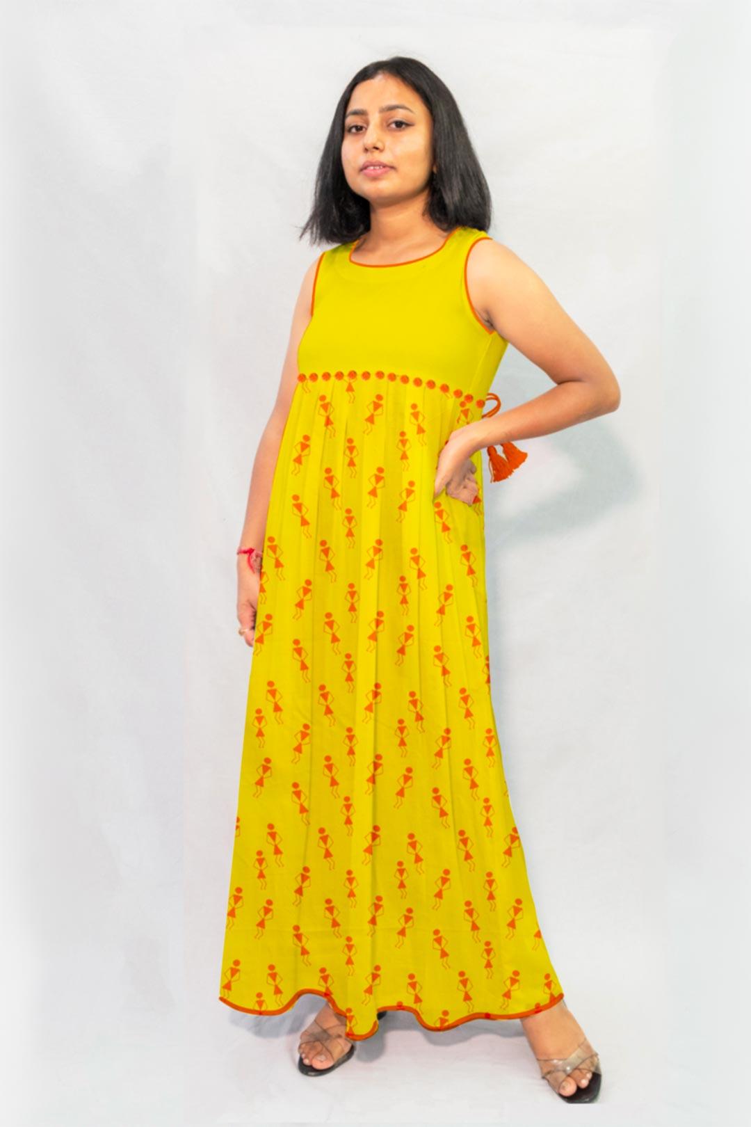Georgette Maxi Dress – Tribal