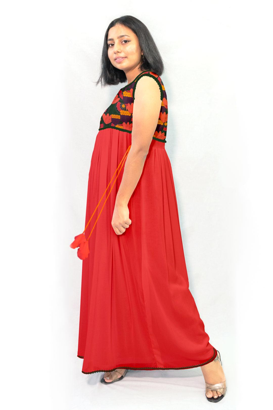 Georgette Maxi Dress – Phantom