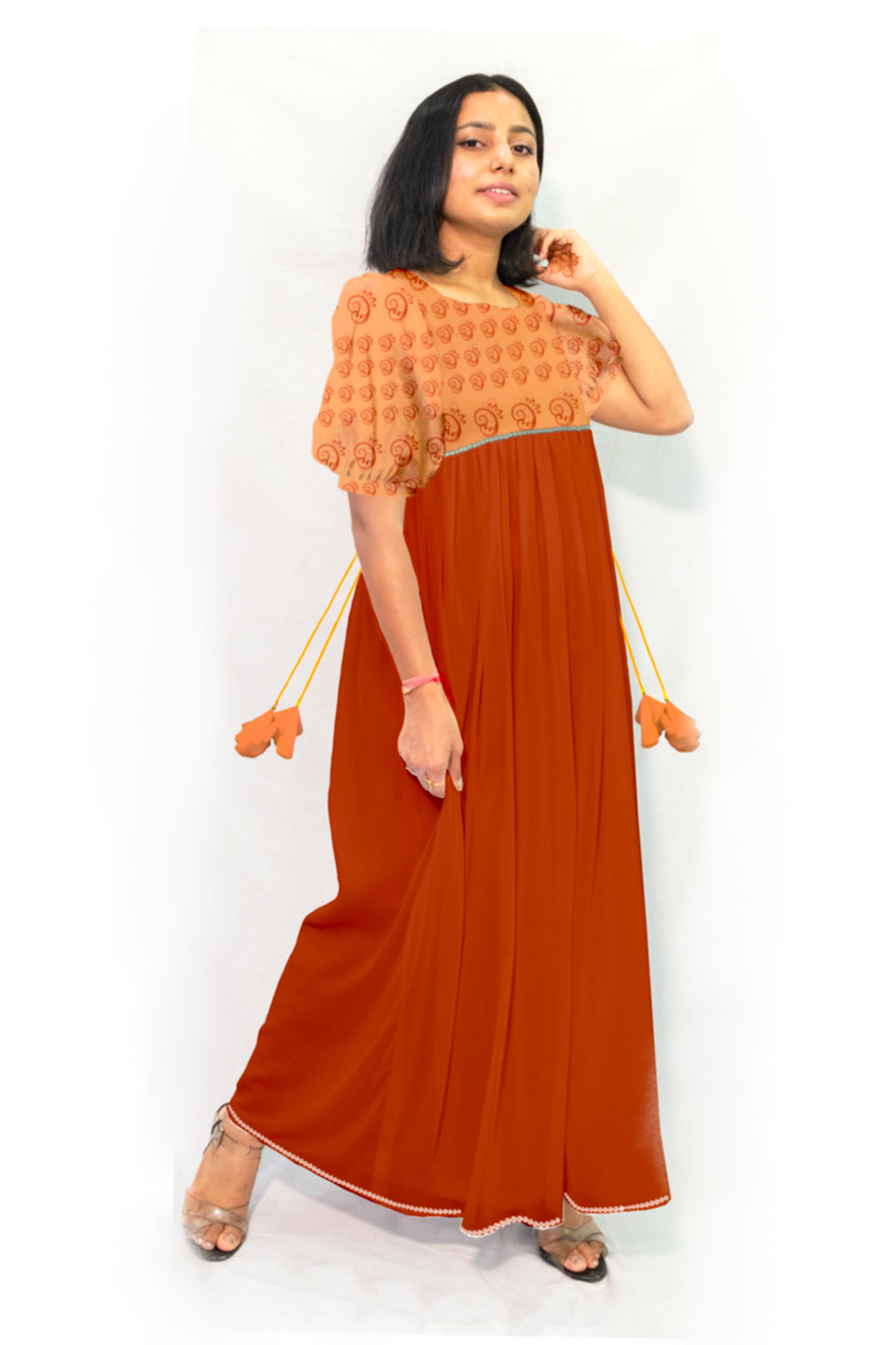 Georgette Maxi Dress – Cocoon