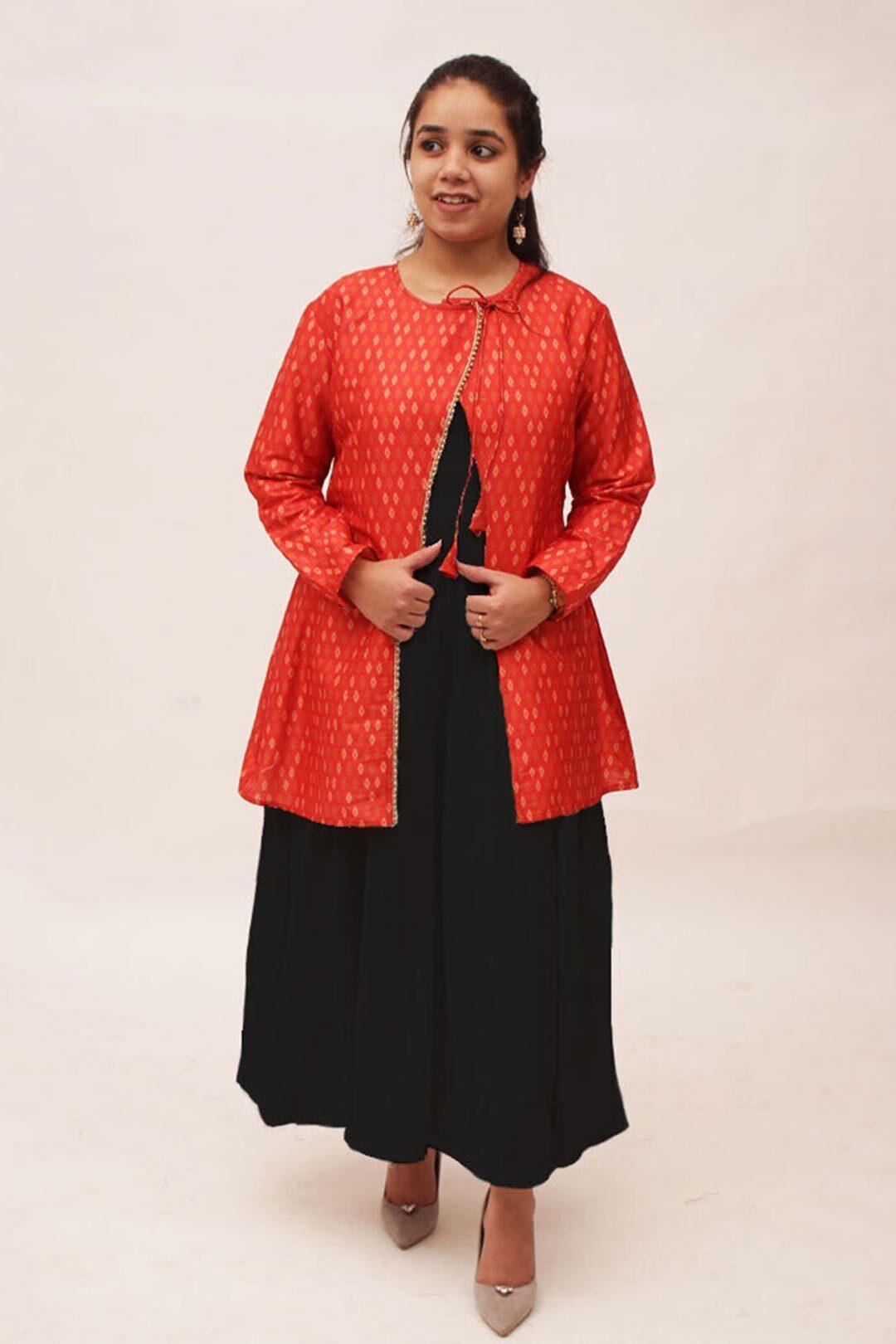 Kaju Katli – Tussar Silk Shrug