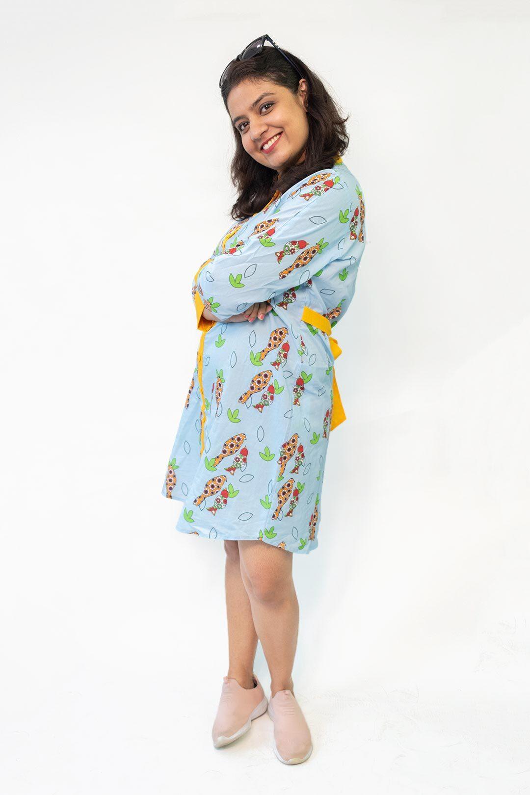 Georgette Shirt Style kurta – Birdies