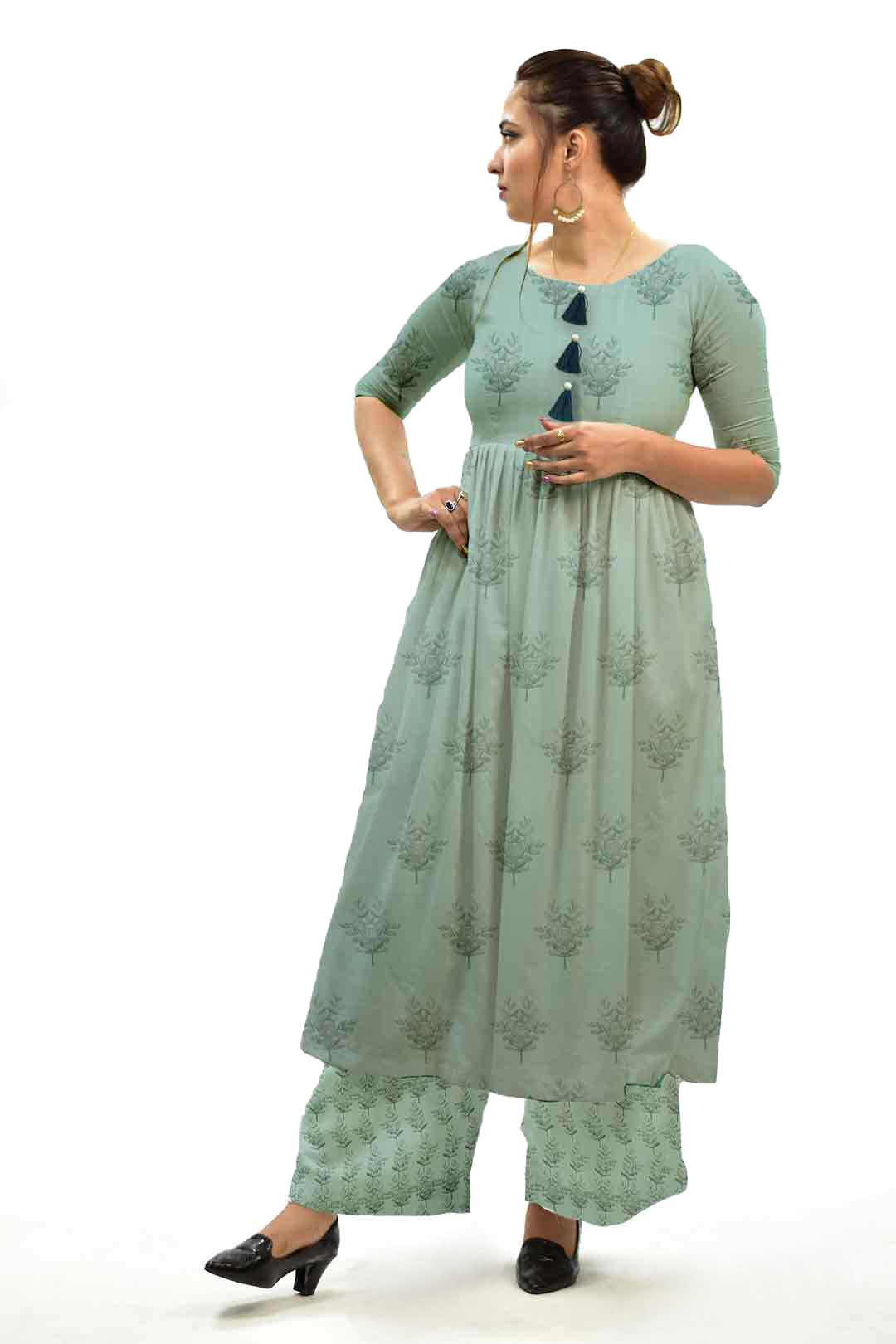 Georgette Frock Style  Suit – Boota