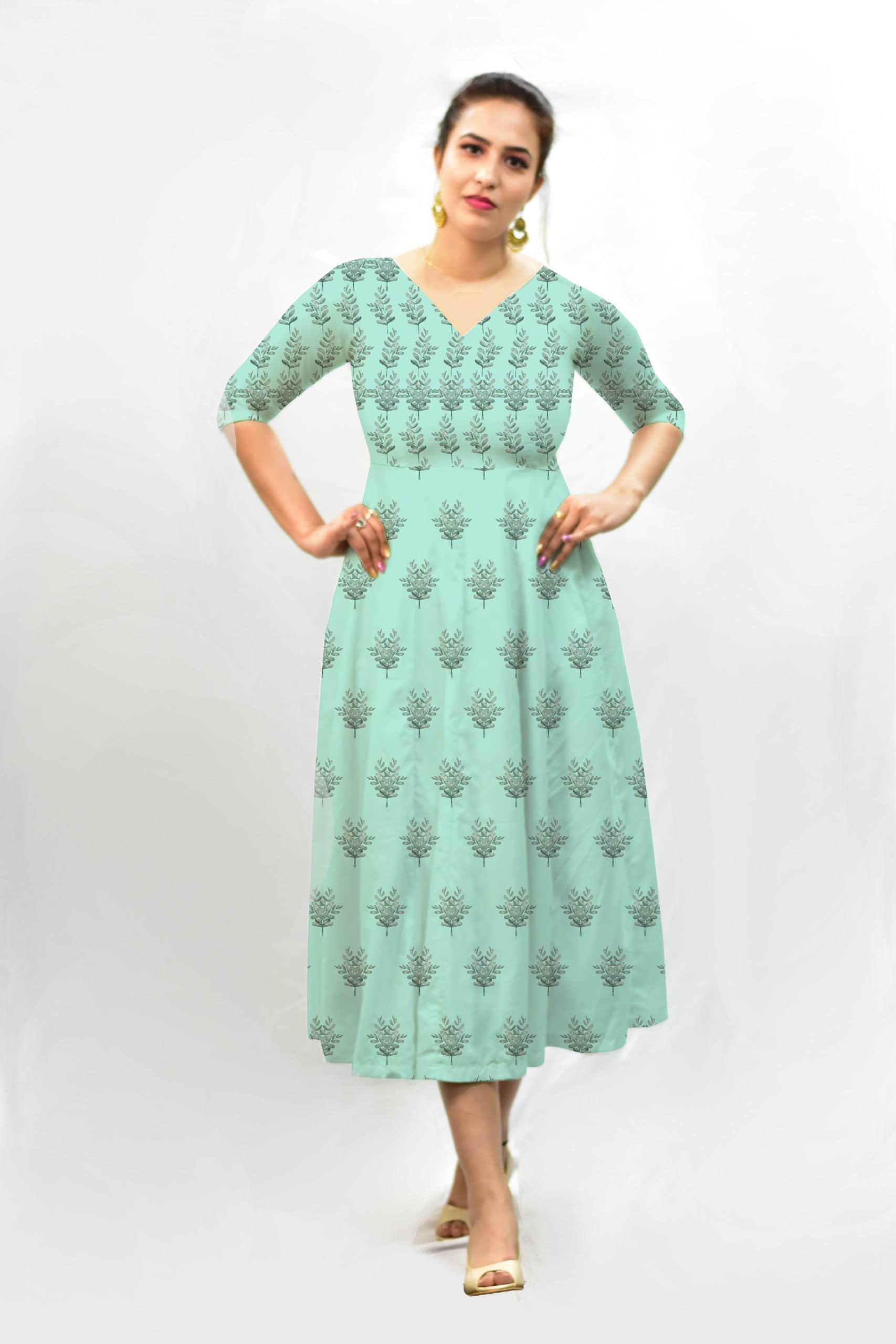 Georgette Frock Style dress – Boota