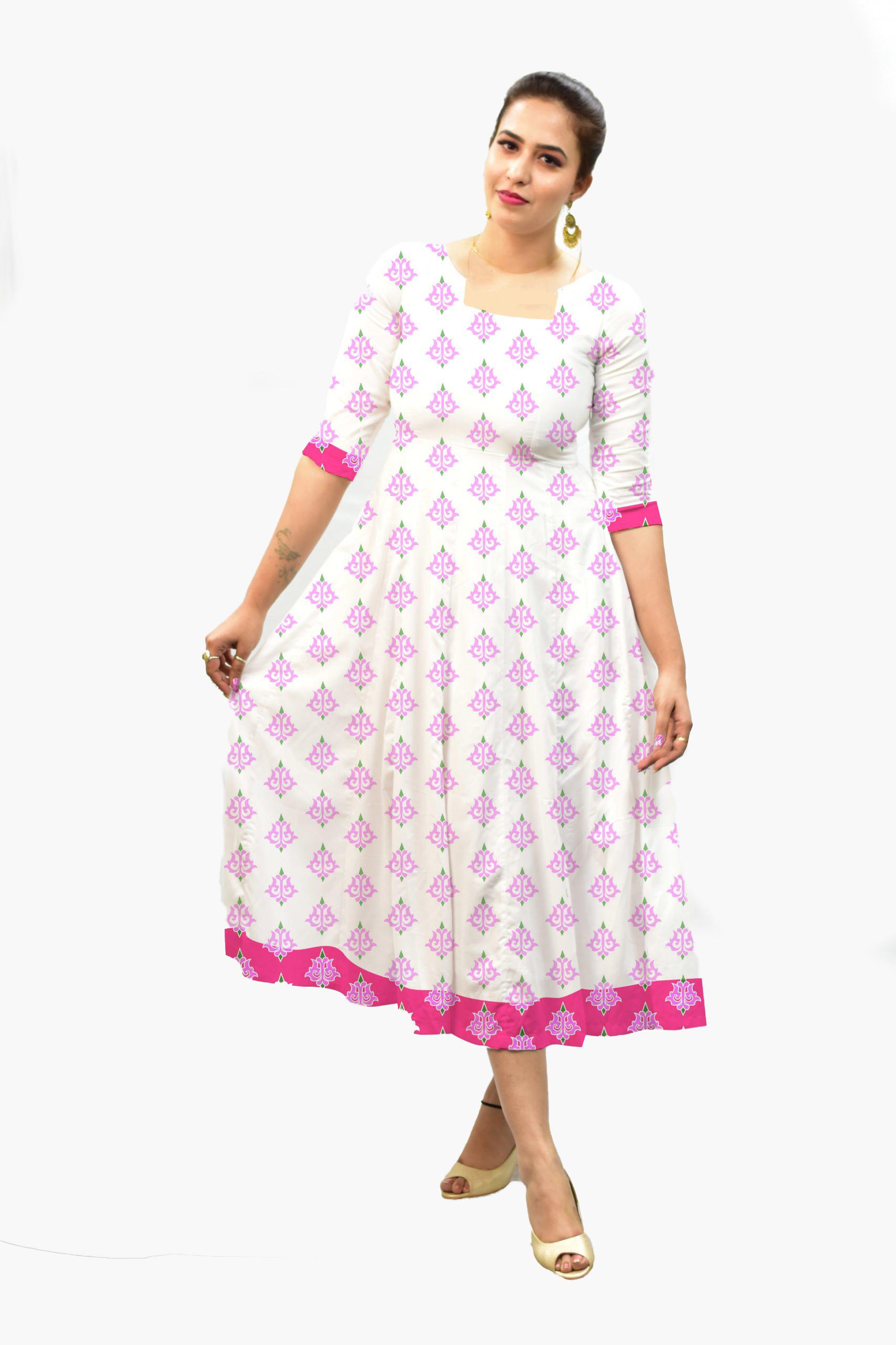 Georgette Frock Style dress – Maharani