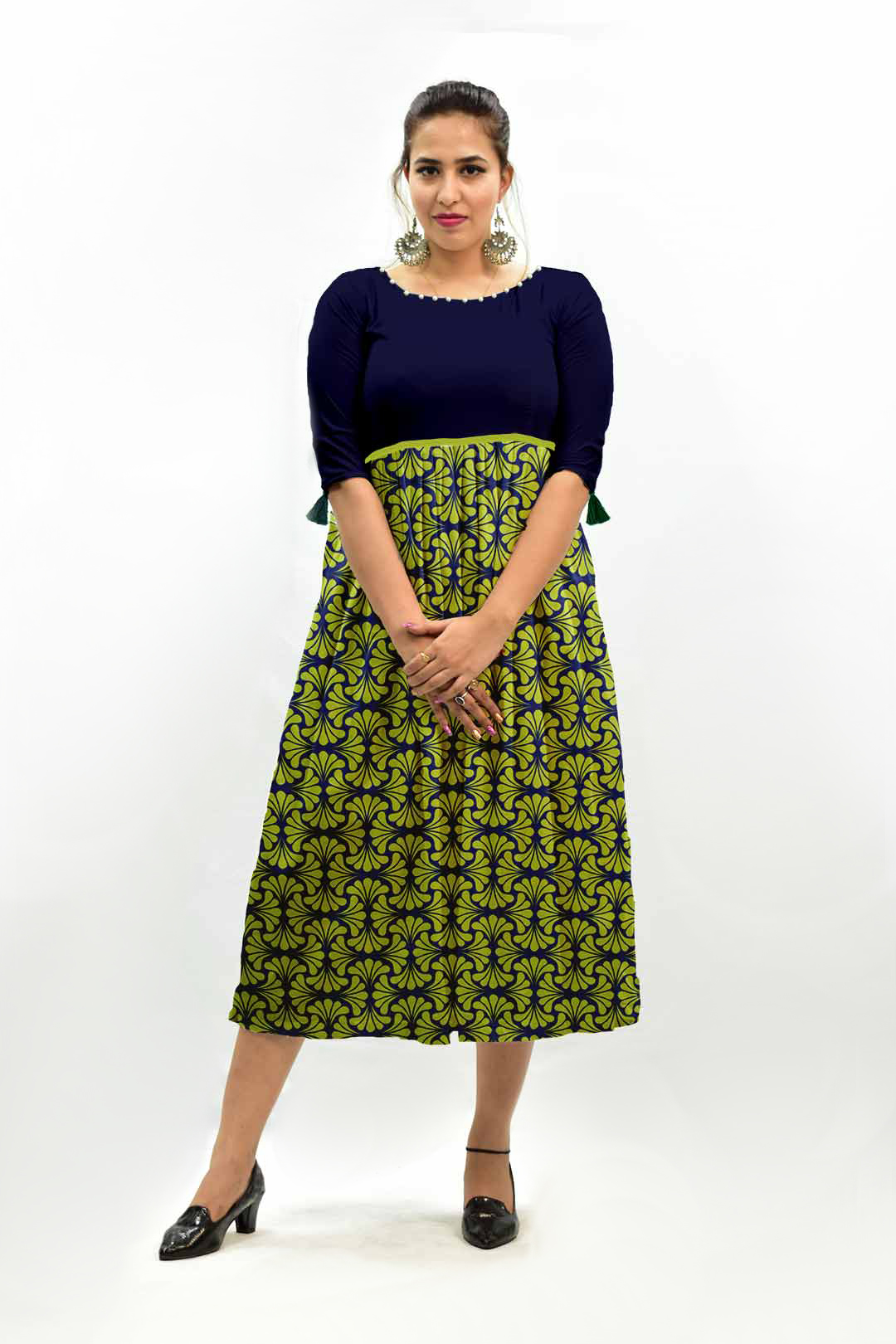 Georgette Frock Style Dress – Arrangement