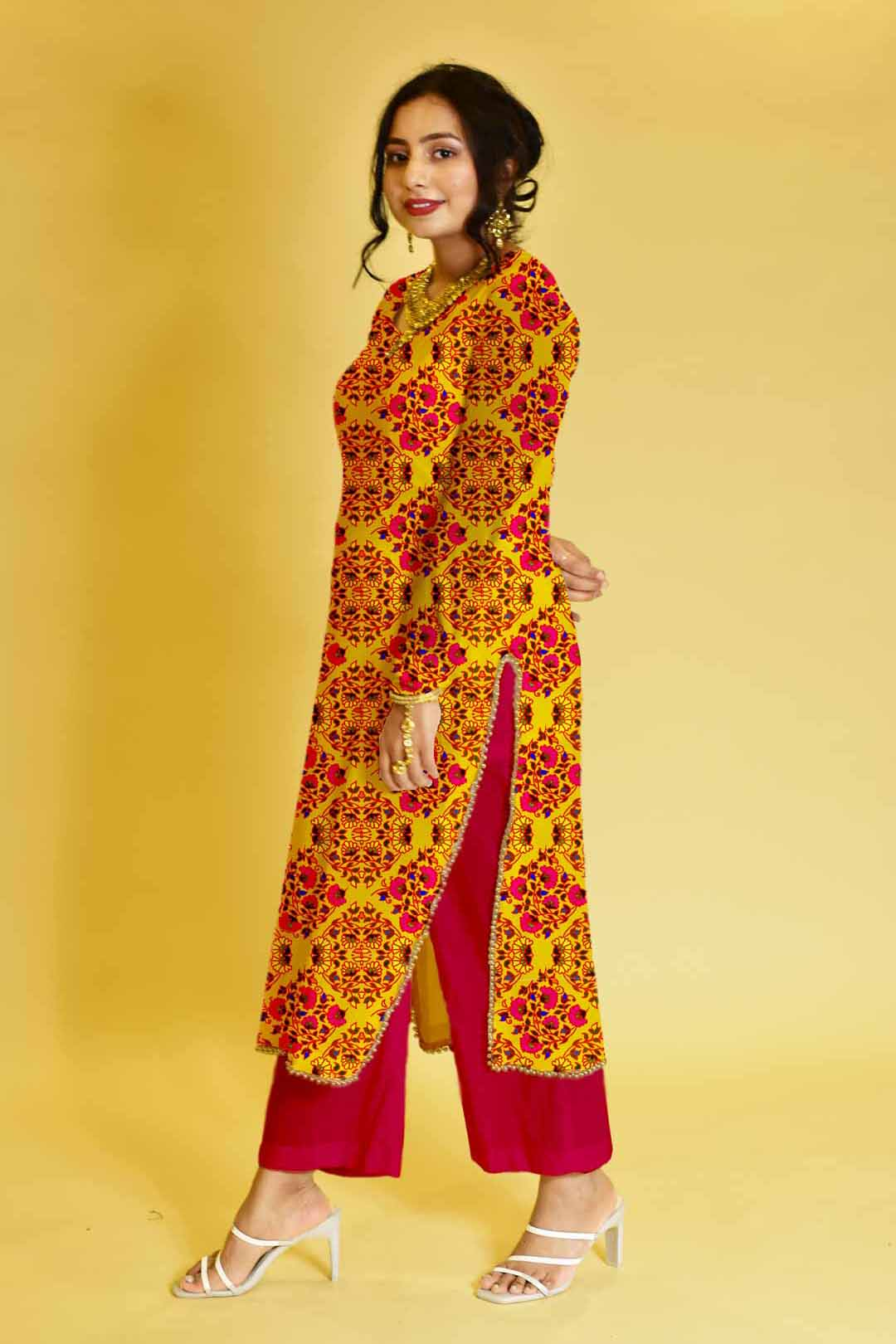 Rayon Pant Suit – The Flower Show