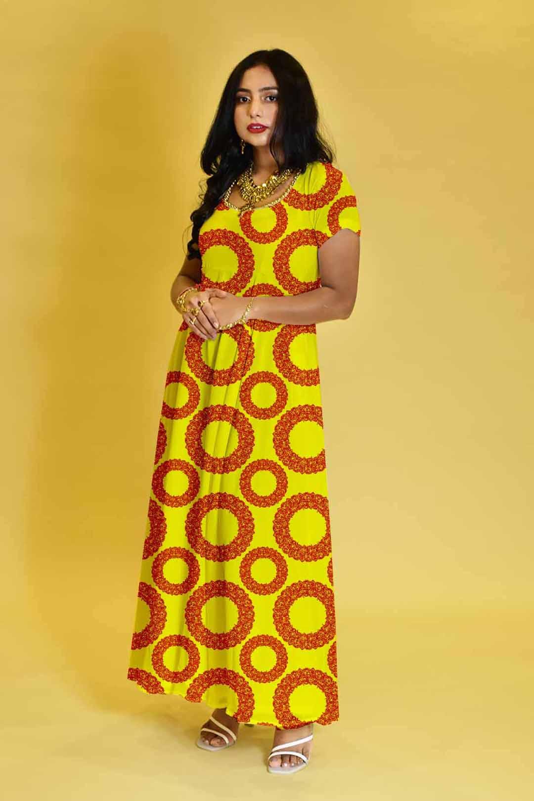 Georgette Anarkali Dress – Round about