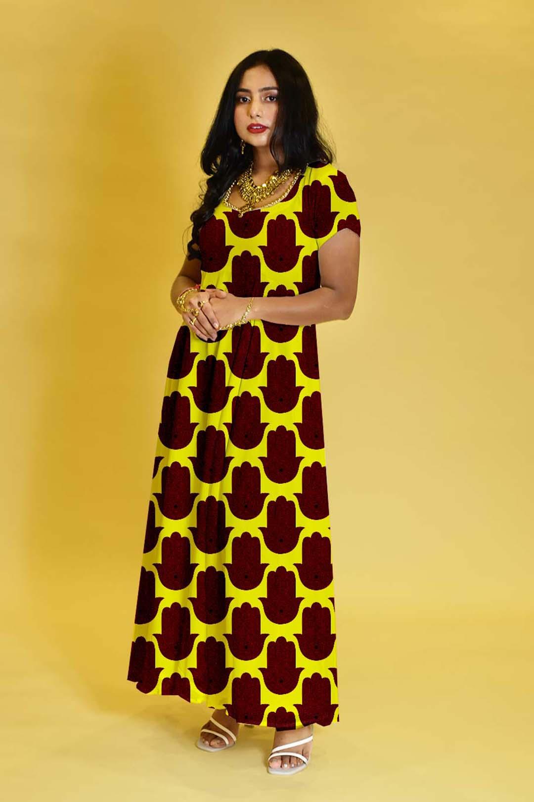 Georgette Anarkali Dress – Simplicit