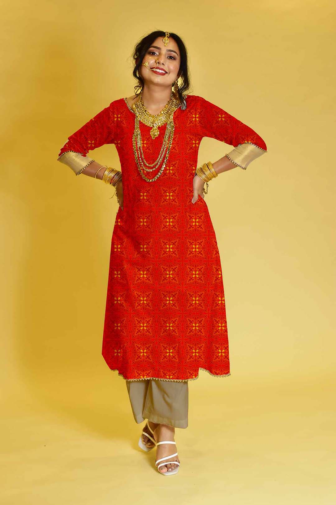 Cotton Palazzo Suit – Oh beloved