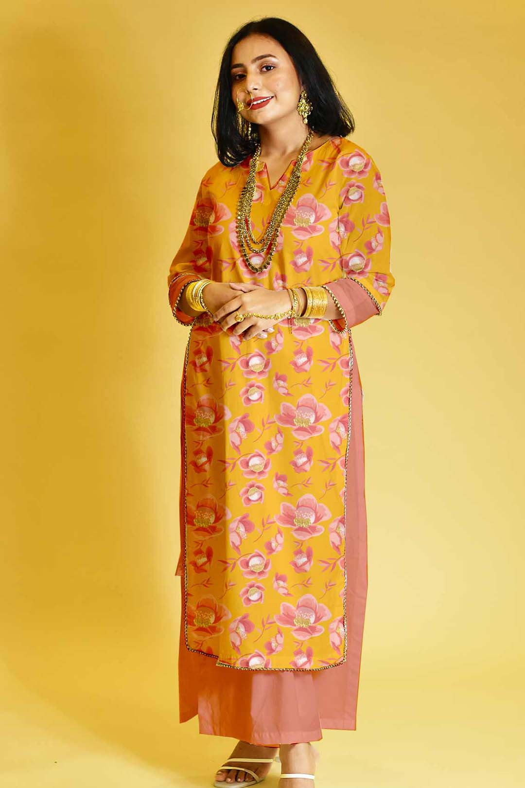 Cotton Palazzo Suit – Titled Tulip