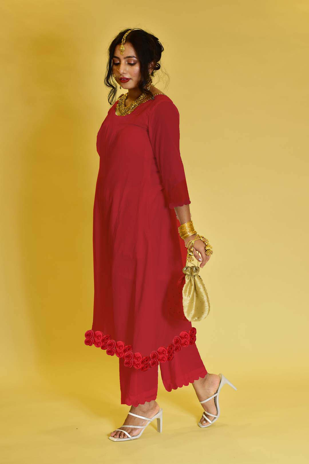 Georgette Pant Suit – Gulabo